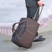 1680D polyester trolley travel bag wholesale made in Shenzhen,China