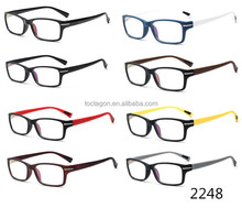 2016 latest new product optical frames manufacturers in Taizhou China directly supply colorful injection optical frames