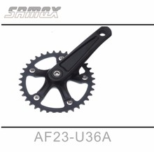 Samox BMX One Peice Alloy 140mm 110BCD Bicycle Cranks