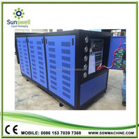 CE Cerification 132KW 40HP 37TON Cooling System for Rubber&Plastic Industry Indonesia