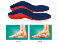 EVA Orthopedic Insole Arch Support For Flatfeet