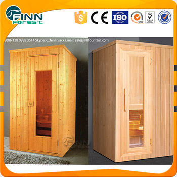 mini sauna room for 1or 2 person use with sauna heater and. Black Bedroom Furniture Sets. Home Design Ideas