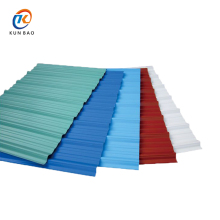 High quality apvc resin Spanish style anti-corrosive long life span durability concrete roof tile