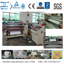Automatic ATM Paper Slitting Machine Fax Paper Slitter and Rewinder Thermal Cash Paper Slitting Machine
