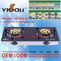 YG-B8020 whole sale kitchen gas hob asia gas stove