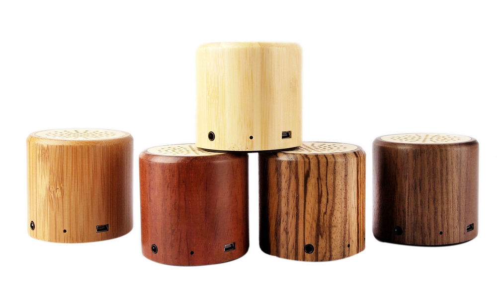 portable wooden speaker