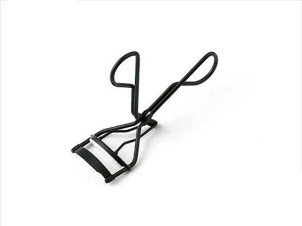 Prtable Travel Mini Size Metal Black Eyelash Curler