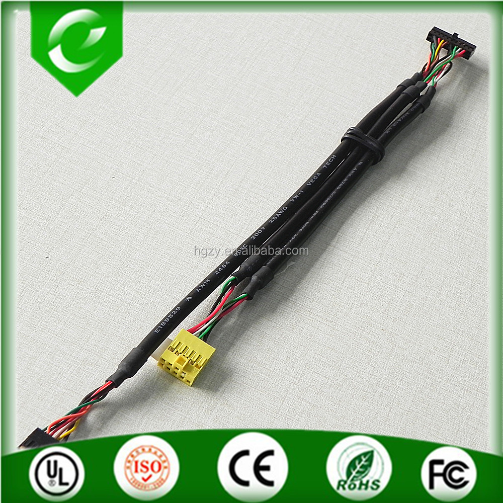 Wholesale 30pin to 40pin lvds cable both end with dupont 2.0