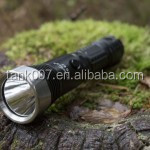 Factory supply Tank007 wateproof <strong>U2</strong> LED rechargeable torch flashlights