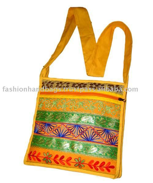 Embroidered Shoulder sling hippie Canvas bags 2017