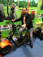 leadway halley electric lithium battery mobility two wheel electric scooter L16 -J30
