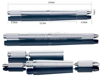 High quality Three-head semi Micro blading pen,Permanent make-up eyebrow disposable tattoo pen