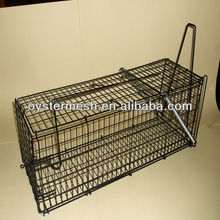 Zinc plated Mouse Trap Cage with Auto-door and Factory Price