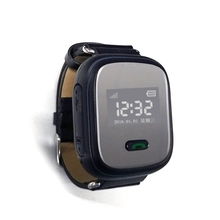 sos, gps,gsm watch Q801 mini gps tracker smart watch phone for elder people