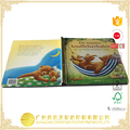 customize High quality greyboard children edicational board book printing