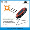 2016 Mini Solar Reading lamp 0.5w Solar desk Lamp with integrated Solar Panel