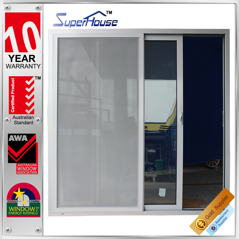 New design anti-noise glazed aluminium sliding wardrobe doors