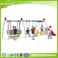 Dreamland High Quality Playground Baby Swing Chair Sets For Sale