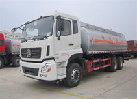 2015 New Design China Dongfeng Large Capacity 6x4 20CBM fuel tank truck for sale