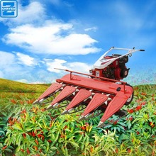 170F air cool diesel engine walking tractor mini rice soybean reaper/rice cutter