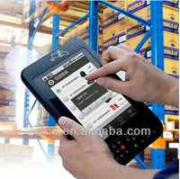 Rugged industrial IP65 tablet PC with Android 4.2 OS, wifi 3G NFC UHF RFID module