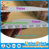 Silkscreen printed Fullcolor honeycomb pp plastic sheet