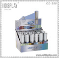 Recycled Offset Paper Cardboard Counter Display Stands for Cosmetic