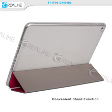 Super thin colour pu leather stand 10 inch tablet hard case