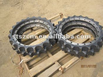 excavator final drive assembly, sprocket, segment, excavator spare parts