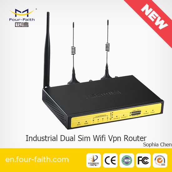 original 4G lte router with SIM card slot failover router Dual Sim 3G 4G Router For ATM,Video Stream