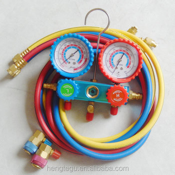used for Manifold Gauge Set with two way Automotive freon charging hose r134a