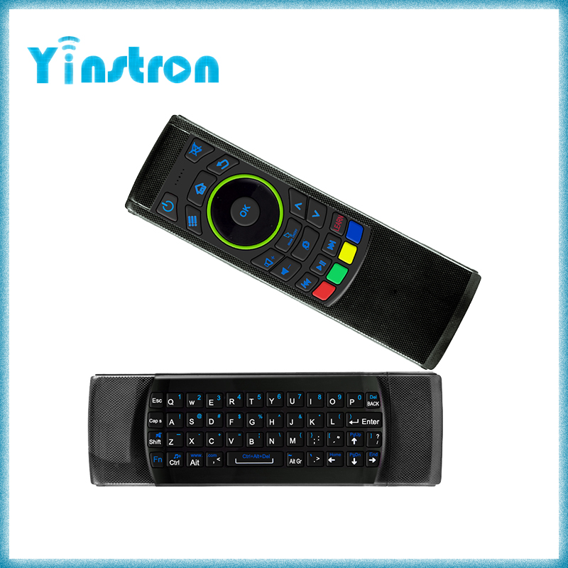 2016 New FM5s 2.4G Air Mouse Keyboard Wireless Remote Control for Andriod TV box/TV/Computer