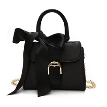 new women stylish fashion bow chain shoulder <strong>mobile</strong> <strong>phone</strong> carry small velvet bag