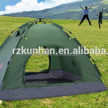 best selling 4 Person Instant Automatic Open 2 Layer camping tent outdoor Waterproof folding bed camping tent