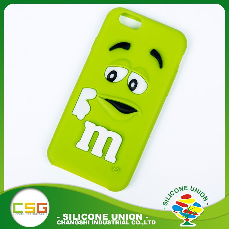 Endurable custom logo fashion silicone cell phone case cover