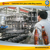glass bottle Carbonated energy beverage packing machine