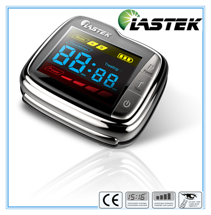 Control blood pressure 650nm soft laser healthy natural dropshipping smart watch