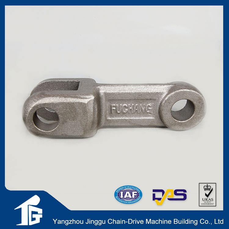 Standard agricultural transmission industrial roller chain attachment