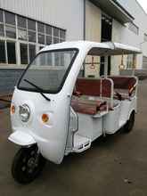 New ABS roof passenger electric auto rickshaw tuk tuk