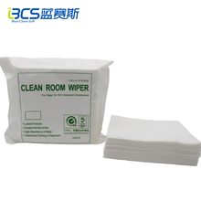 Double action abrasive wipes cleanroom wipe