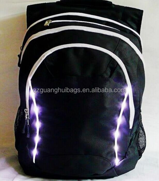 2166 e Backpack with Wireless Control LED Turn Signal Light Warning for Night Cycling Safety