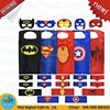 Wholesale Halloween Superhero Capes With Mask