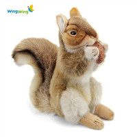 Animal shaped squirrel stuffed low cost plush adult toys china