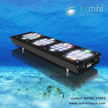 150W Intelligent Wifi Programable LED Aquarium Light Fixture 36-inch for 2ft Marine Tank