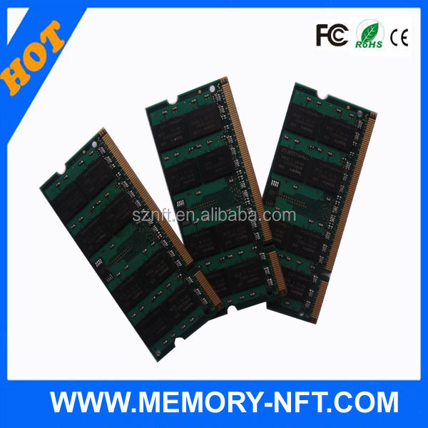 High Quality Available NEW Laptop DDR2 2GB Ram 4gb pc2-6400 ddr2 sodimm 800mhz 200-pin memory ram