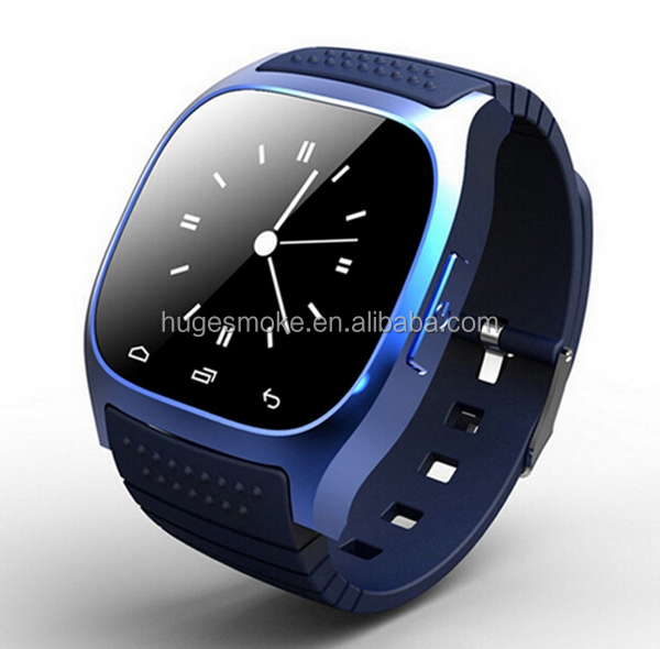 2016 low price Sport Style Bluetooth Smartwatch M26 Accept OEM Manufacturing