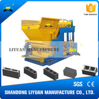 block laying QMY10-15 saudi arabia mobile concrete block making machine price