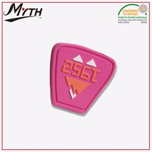 custom 3d soft pvc patch,hard silicone rubber,pvc rubber patch