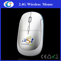 Computer accessory 2.4g optical wireless mouse slim