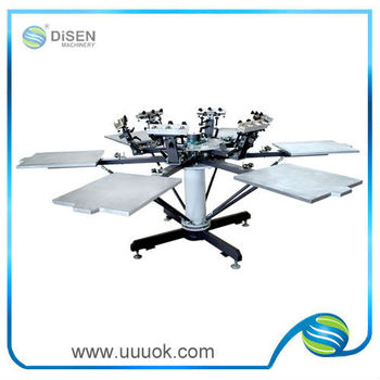 High quality manual silk screen printing machines